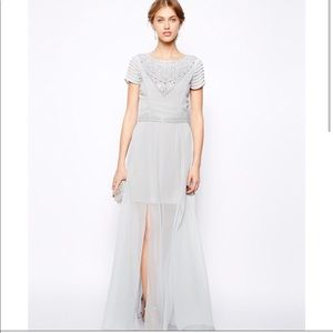 ASOS Frock and Frill Jeweled High Neck